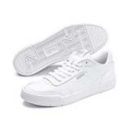 PUMA Caracal, Zapatillas Unisex Adulto, White Silver, 43 EU