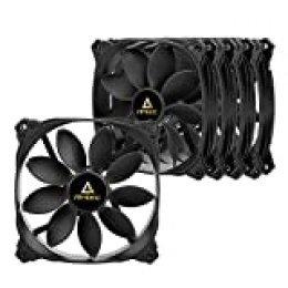 Antec - Ventilador de 120 mm, alto flujo de aire, 53 CFM @ 1000 RPM, 120 mm, 5 paquetes de 3 pines (Serie Lotus)
