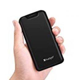 Xnuoyo 20000mAh Power Bank Cargador Portátil Batería Externa de Alta Capacidad con Indicador LED, Entrada Micro y Tipo C y Puertos de Salida Dual Compatibles con la Mayoría de los Smart Phones