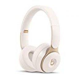BeatsSoloPro con cancelación de ruido - Auriculares supraaurales inalámbricos - Chip Apple H1, Bluetooth de Clase1, 22horas de sonido ininterrumpido - Marfil
