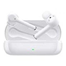 HUAWEI FreeBuds 3i - Auriculares inalámbricos con cancelación de Ruido Activa (conexión Bluetooth Ultra rápida, Altavoz de 10 mm), Color Blanco, Tamaño único