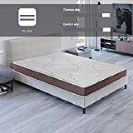 ROYAL SLEEP Colchón viscoelástico 150x190 de máxima Calidad, Confort, adaptabilidad y firmeza Alta, Altura 19cm - Colchones Dormant