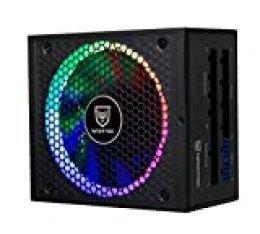 Nfortec Sagitta Fuente de alimentación 80 Plus Gold 850w Full Modular con retroiluminación RGB en Diferentes Efectos y Colores.