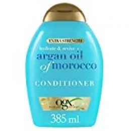OGX Acondicionador Aceite de Argán Extra Fuerte, Hidrata y Fortalece - 385 ml