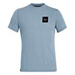 SALEWA Small Box Dri-rel M S/S tee - Camiseta Hombre