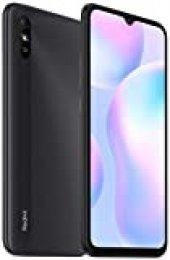 """Xiaomi Redmi 9A - Smartphone 2GB 32GB, Pantalla HD + Dot Drop de 6.53"""",MediaTek Helio G25, batería de Alta Capacidad de 5000mAh (típico) Cámara Trasera de 13MP Al, Gris…"""