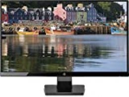 "HP 27w - Monitor de 27"" (Full HD,  1920 x 1080 pixeles,  Plug and Play,  IPS,  HDMI,  VGA,  1000:1,  16:9),  Color Negro"
