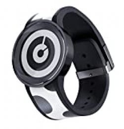 Sony feswa1b.CE7Watch U S de Papel Fashion Reloj (con Activo Matrix en Esfera y Pulsera, Bluetooth, Ajuste Diseño Botón, Base de Carga), Color Negro