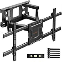Soporte TV de Pared Articulado Inclinable y Giratorio para Pantallas de 37-70 Pulgadas, hasta 60 kg, MAX VESA 600x400mm