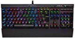 Corsair K70 LUX RGB - Teclado mecánico Gaming, retroiluminación multicolor RGB, Cherry MX Speed (Rápido y altamente preciso) - [QWERTY Español]