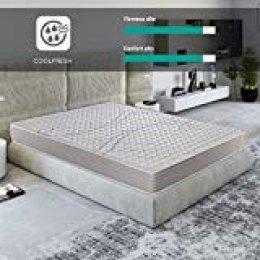 ROYAL SLEEP Colchón viscoelástico 135x182 de máxima Calidad, Confort, firmeza y adaptabilidad Alta, Altura 18cm - Colchones Xfresh Plus