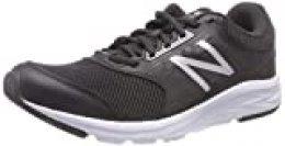 New Balance 411, Zapatillas de Running para Mujer, Negro (Black/White), 36.5 EU