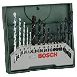Bosch Mini X-Line - Set de 15 brocas mixto