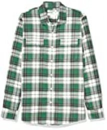 Goodthreads Slim-fit Long-Sleeve Plaid Twill Shirt Hombre