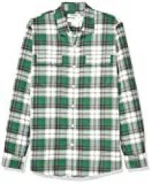 Goodthreads Slim-fit Long-Sleeve Plaid Twill Shirt Hombre