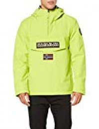 Napapijri Rainforest Winter 1 Chaqueta, Amarillo (Yellow Lime YA2), L para Hombre