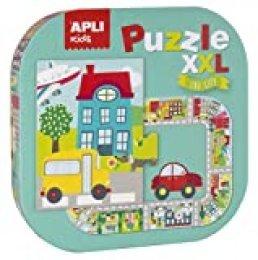 APLI Kids 16578-Puzle XXL Ciudad (16578) , color/modelo surtido