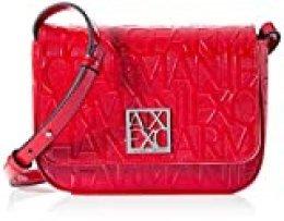 Armani ExchangeShiny Liz - Small Shoulder StrapMujerShoppers y bolsos de hombroRosa (Rosa/Pink)13x5x19 Centimeters (B x H x T)