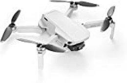 DJI MAvic Mini, Dron Ultraligero y Portátil, Duración Batería 30 minutos, Distancia Trasmisión 2 Km, Gimbal 3 Ejes, 12 MP, Video HD 2.7K, Blanco