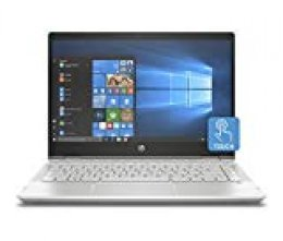 "HP Pavilion x360 14-cd0013ns - Ordenador Portátil Convertible 14"" FullHD (Intel Core i7-8550U, 8GB RAM, 256GB SDD, Nvidia GeForce MX130, Windows 10) Color Plata - Teclado QWERTY Español"