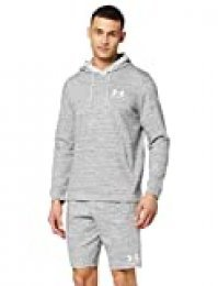 Under Armour Sportstyle Terry H Sudadera con Capucha, Hombre, Blanco (Onyx White/Onyx White 112), S