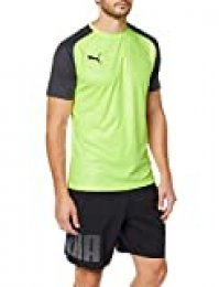 PUMA Cup Training Jersey Core Jersey, Hombre, Fizzy Yellow-Asphalt, S