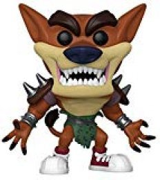 Funko Pop Figura De Vinil Games: Crash Bandicoot-Tiny Tiger Coleccionable, Multicolor (43344)