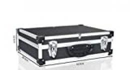 POINSETTIA - Maletín de herramientas de aluminio para instrumentos y equipos técnicos con inserto de espuma ajustable