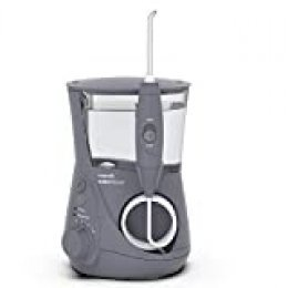 Waterpik WP-667EU Aquarius - Irrigador dental, 100-240V, depósito de agua de 650 ml, Gris