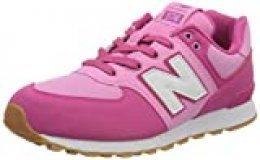 New Balance 574v2, Zapatillas para Niñas, Rosa (Pink Dmp), 38 EU