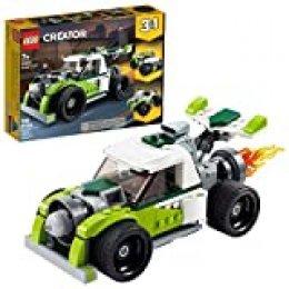 LEGO Creator - Camión a Reacción, Set de Construcción de Coche de Juguete, Set 3 en 1, Construye un Quad o un Todoterreno, a Partir de 7 Años (31103)