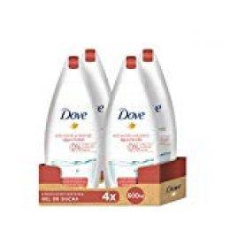 Dove Gel de ducha Agua Micelar Anti-Estrés - 4 unidades de 500 ml (Total 2000 ml)