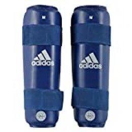 adidas Unisex - Espinilleras Wako PU Shin Guard, Unisex - Adultos, ADIWAKOSG01, Azul, Small