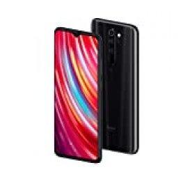 """Xiaomi Redmi Note 8 Pro - Smartphone de 6.53"""" FHD+ (6 GB RAM, 128 GB ROM, cámara cuádruple de 64 MP, MTK Helio G90T, 4G, bateria de 4500 mAh) Mineral Grey [Versión Española]"""
