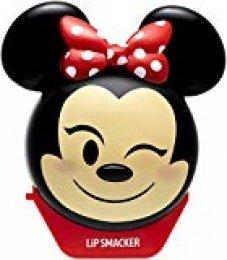 Lip Smacker Bálsamo Labial Emoji Minnie Disney Perfume fresa/limonada Protège/Hydrate vos labios