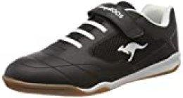 KangaROOS Raceyard Ev, Zapatillas Unisex Adulto, Negro (Jet Black/White 5012), 41 EU