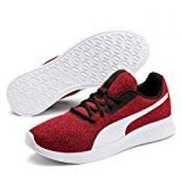 PUMA Modern Runner Low Boot Sneaker Sportschuhe Ribbon Rot-Weiss, tamaño:43