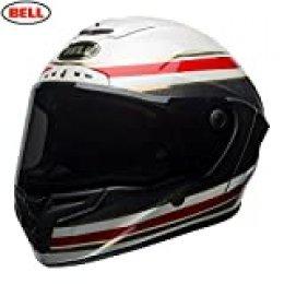 Bell Helmets 7091943 Campana RACESTAR, Hombre, FÓRMULA RSD Blanco/Rojo M, Medium