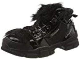 D. Franklin Treckton, Zapatillas para Mujer, Negro (Negro 0020), 41 EU