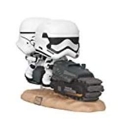 Funko- Pop Movie Moment: Star Wars The Rise of Skywalker-First Order Tread Speeder Disney Figura Coleccionable, Multicolor, única (39915)