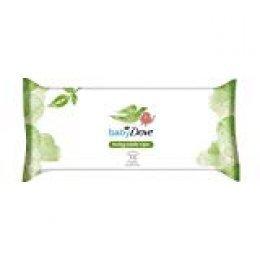 Baby Dove - Toallitas Húmedas para bebés biodegradables, 75 unidades, Pack de 12