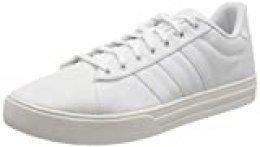 adidas Daily 2.0, Zapatillas de Gimnasio para Hombre, FTWR White/FTWR White/Grey Two F17, 45 1/3 EU