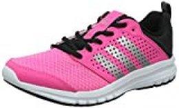adidas Madoru Woman, Zapatillas de Running para Mujer, Rosa/Blanco/Negro/Plata, 38 2/3 EU