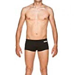 Arena M Short Bañador Corto Hombre Solid Squared, Black-White, 70