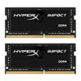 HyperX Impact DDR4 HX424S14IB2K2/16 Memoria RAM 2400MHz CL14 SODIMM 16GB Kit (2x8GB)