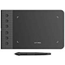 XP-PEN G640S Tableta de Dibujo Gráfica Actualizada 6 x 4 Pulgadas con 6 Teclas de Atajo para OSU! Jugar con el Lápiz sin Batería(Presión Sensible 8192 Niveles) (Star G640S)