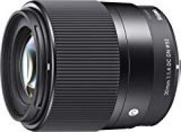 Sigma 30mm f/1.4 DC DN Contemporary - Objetivo estándar para el Sistema Micro Cuatro Tercios, Color Negro