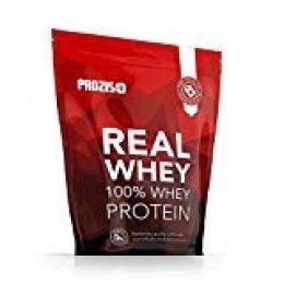 Prozis 100% Real Whey Protein, Suplemento Puro en Polvo con un Perfil Completo de Aminoácidos y Rico en BCAA, Chocolate y caramelo - 1000 g