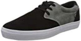 GLOBE Winslow, Zapatillas de Skateboard para Hombre, Negro (Black/Charcoal/White 10094), 42 EU