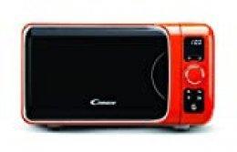 Candy EGO-G25DCO Microondas con grill, 6 programas automáticos, 900 W / 1000 W, 25 litros, naranja